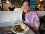 The food in SF is amazing. Even this little Thai restaurant in Sausalito had better food than Boston's Thai food.