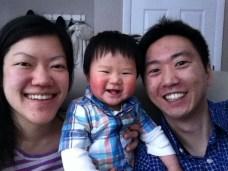 Family selfie on Easter!