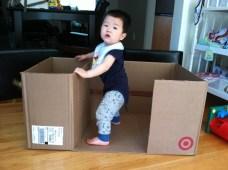 Mom gave me a box!