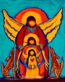 Trinity of Angels | Katherine Skaggs