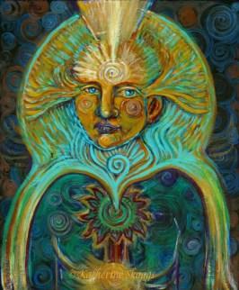 Portrait of the Soul Art Print | Katherine Skaggs