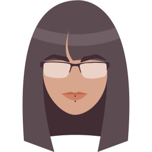 katherine as a flat graphic icon