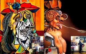 2 pintores historicos Salvador dali y pablo picasso