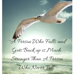 "Inspirational Quote ""A Person Who Falls…"""