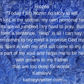 "Side Effects of an Unwanted Divorce- ""Frozen"" A Poem by KathieyV"
