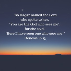 "Morning Motivation- ""The God Who Sees Me"""