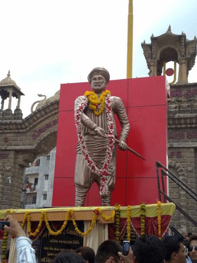Devayat Bodar Statue Junagadh