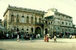 the exterior gateway to the Darbargarh -Jamnagar