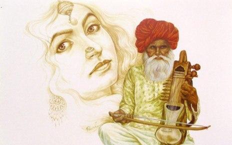 Lok Sahitya Painting