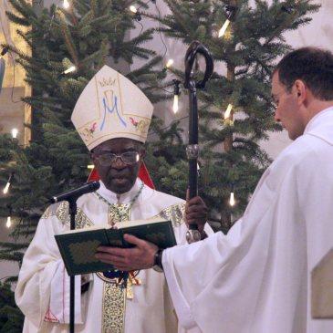 Predigt von Bischof Barthélemy Adoukonou am Weihnachtstag