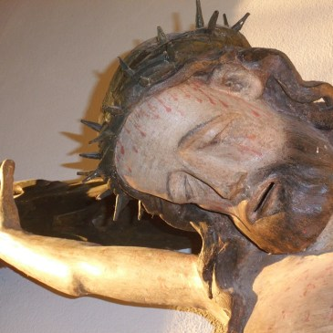 Das Oschersleber Pestkreuz in St. Marien in Bildern