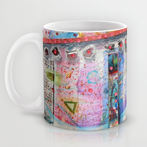 Always Merry & Bright mug from Society6