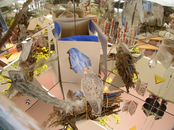 Traveling Shrines, Ajax, instalation, Kathleen O'Brien