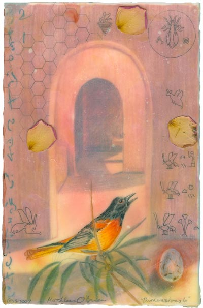 "Kathleen O'Brien, ""Dimensions 6"", Giclee print"