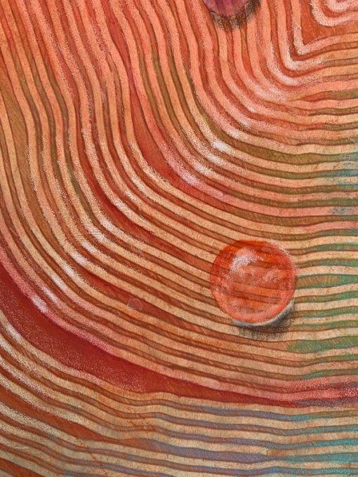 """Light of the Earth 2"", detail, ©Kathleen O'Brien"
