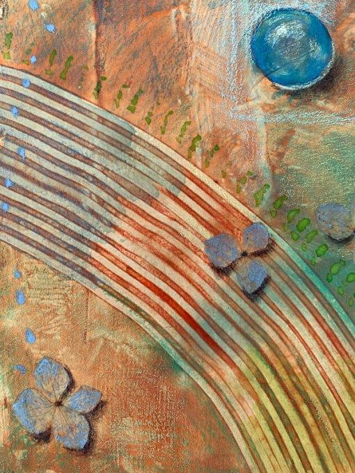"""Light of the Earth 3"", detail, ©Kathleen O'Brien"