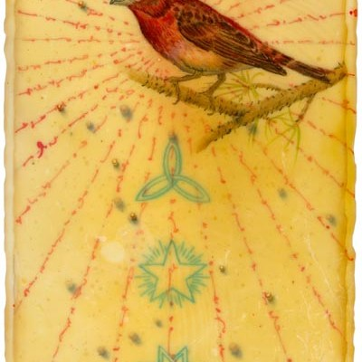 "Kathleen O'Brien, ""Purple Finch"", Giclee print"