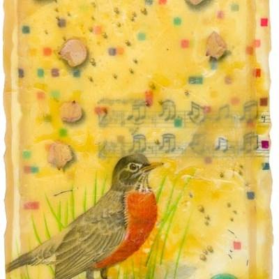 "Kathleen O'Brien, ""Robin Song"", Giclee print"