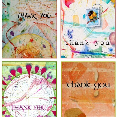 Thank You Card Set 1