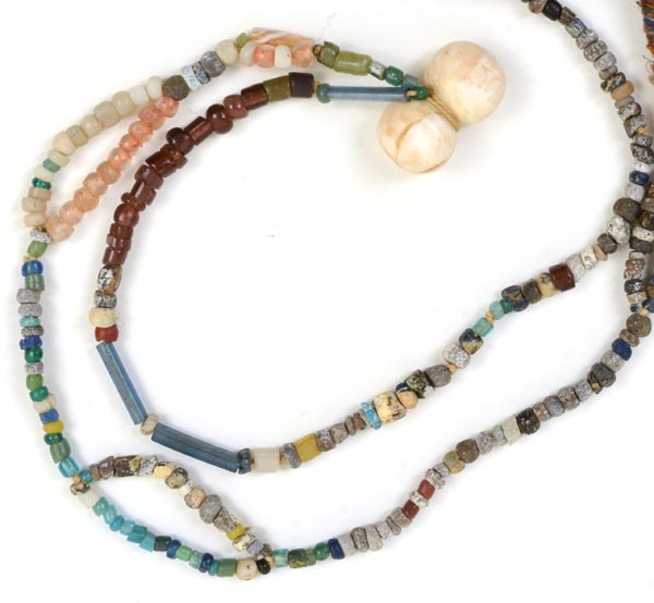 """""""Talisman for the Earth"""", necklace with Djenna Beads, Kathleen O'Brien"""