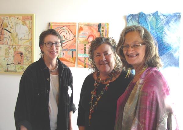 Rezny, O'Brien, Zabielski at Collaborations Exhibit