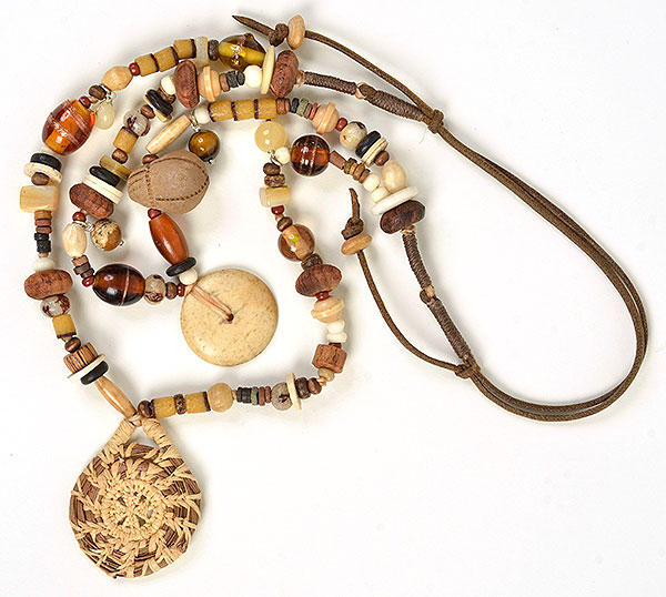 """Talisman for Artisans"", necklace by Kathleen O'Brien"