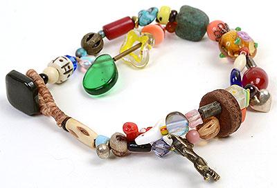 """Talisman for Horses"" bead bracelet Kathleen O'Brien"