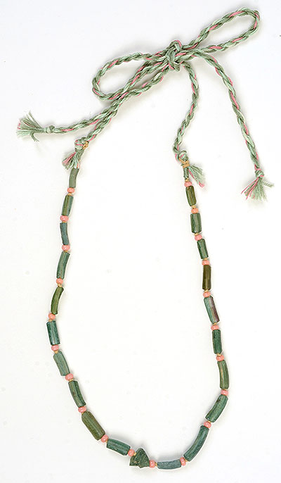 """Talisman for Strength"" necklace by Kathleen O'Brien"