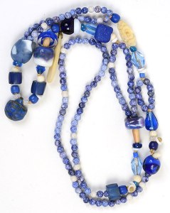 """""""Talisman for Clear Thinking"""", beaded necklace by Kathleen O'Brien"""