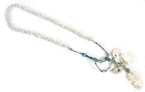 """Talisman for Beaches"" necklace by Kathleen O'Brien"