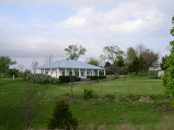 Lilacs Surround Sumwise Farm and Sanctuary