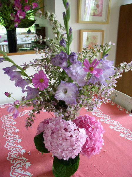 Flowers Picked from the garden July 8