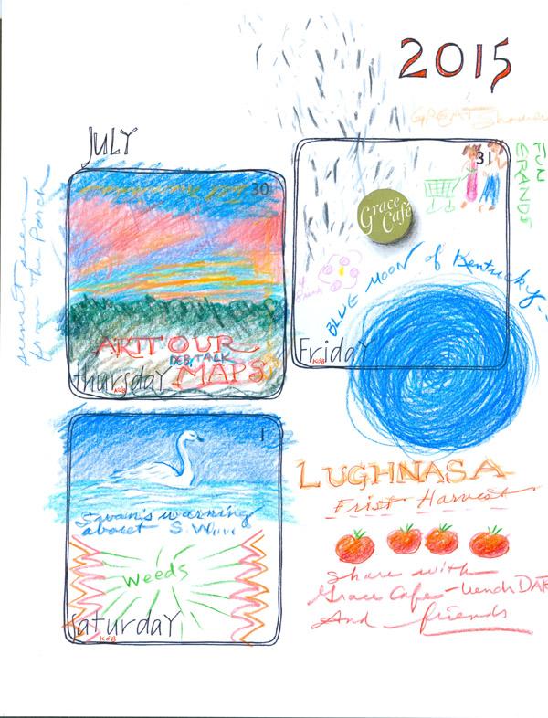 Kathleen O'Brien, Doodles Days August 2015_01