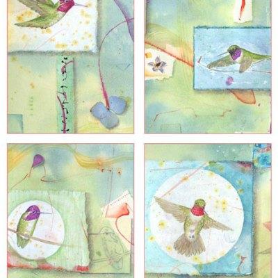 Hummingbirds Card Set Kathleen O'Brien