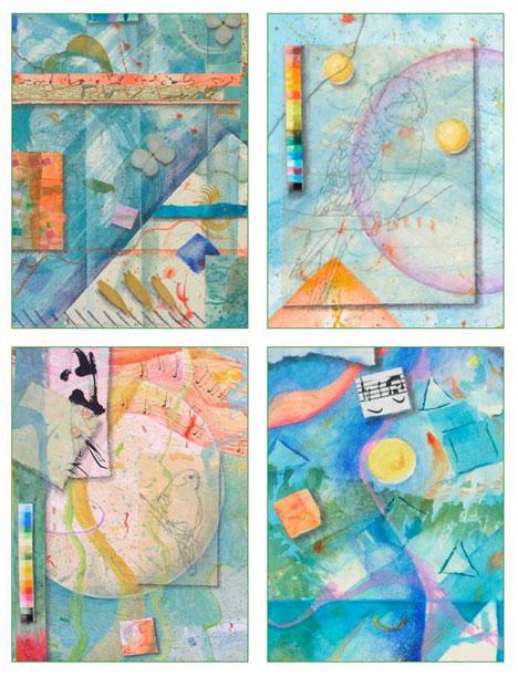 3 Shapes, 2 Card Set Kathleen O'Brien