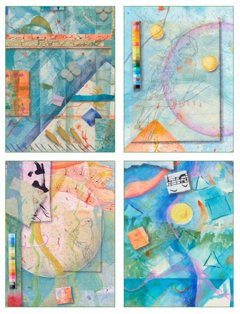 3 Shapes, 2 Card Set Kathleen O'Brien