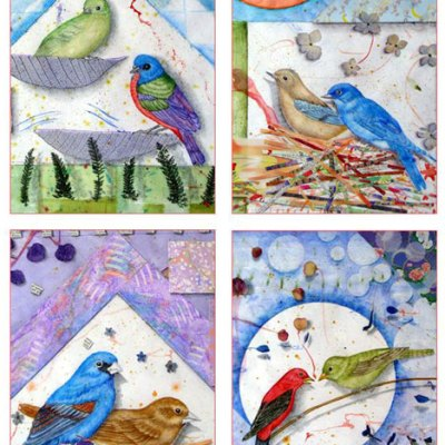Bird Couples Card Set Kathleen O'Brien