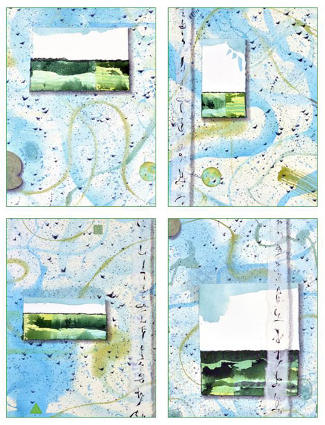 details of Little Landscapes Card set by Kathleen O'Brien