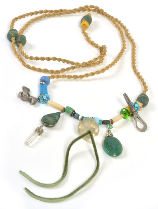 Talisman for Authenticity, necklace by Kathleen O'Brien