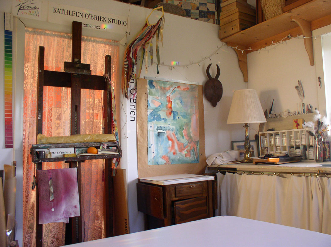 Corner in Kathleen O'Brien Studio