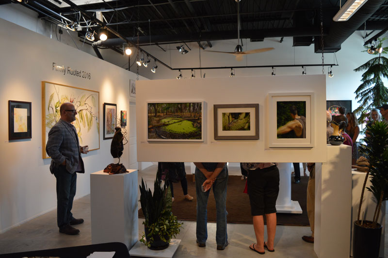 """""""Firmly Rooted"""" juror, Stuart Horodner at MS Rezny Gallery"""