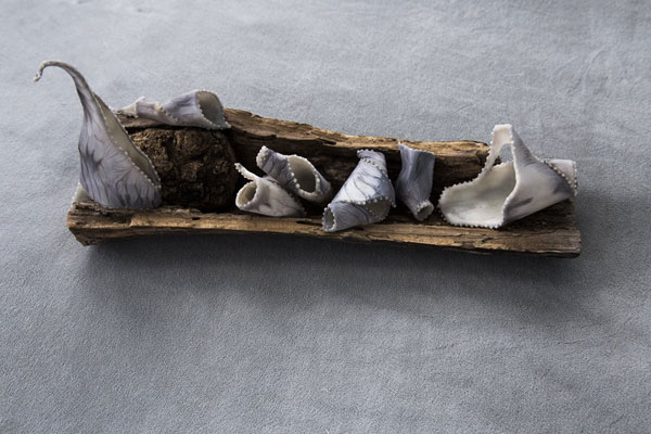 """Passengers"", encautistic sculpture by Michelle Hayden"