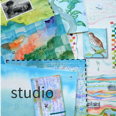 Kathleen O'Brien Studio slideshow, statement, CV, review