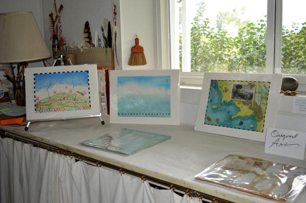new art on the west bench, Kathleen O'Brien Studio