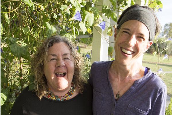 KO'B with guest artist Michelle Hayden, photo by Lauren Higdon