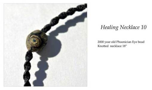 Healing Necklace 10 ID tag by Kathleen O'Brien