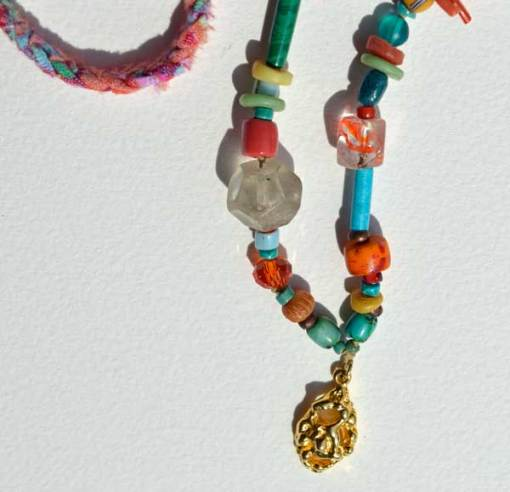 Healing Necklace 5 detail 2 by Kathleen O'Brien