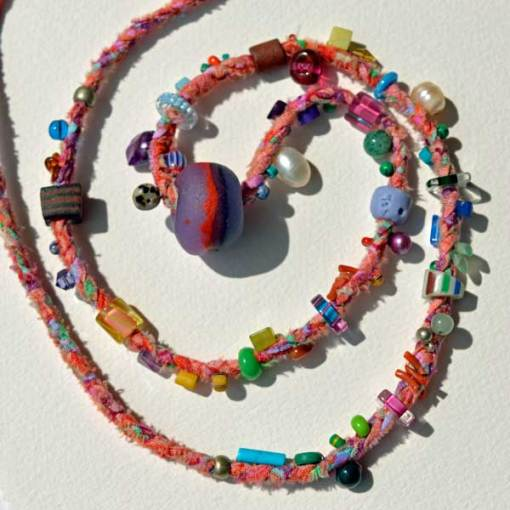 Healing Necklace 6 by Kathleen O'Brien