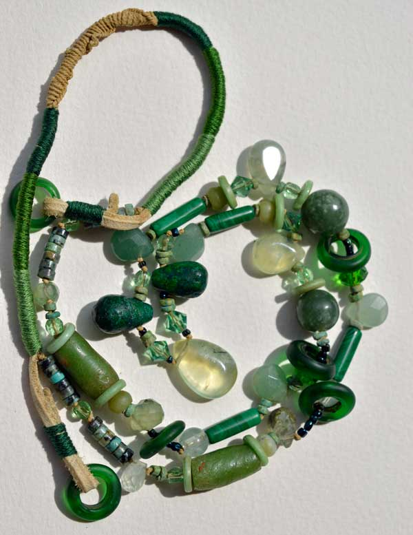 Healing Necklace 8 by Kathleen O'Brien