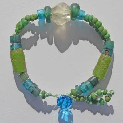 Talisman for Longevity 3, bracelet by Kathleen O'Brien